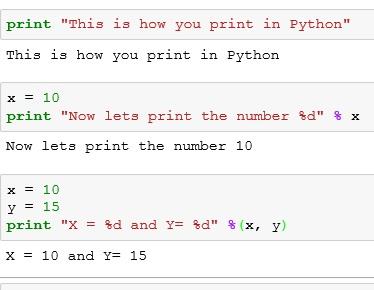 نتيجة بحث الصور عن variable print in python