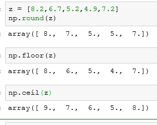 python how to include numpy