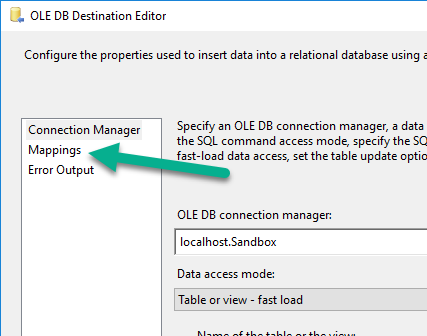 SSIS: Lesson 2 Import data from CSV into database