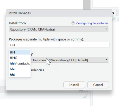 R: Installing Packages with Dependencies – Analytics4All